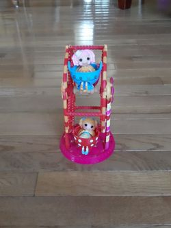Lalaloopsi ferris wheel. $7.00. Call {contact info removed} for Sale in Medina,  OH