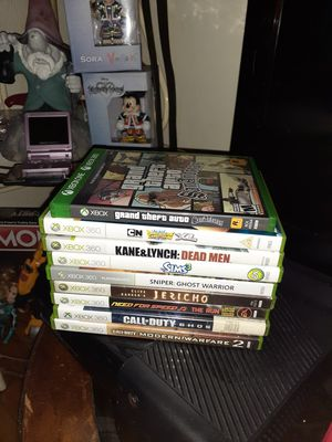 9 xbox360 games all works great for Sale in Obetz, OH