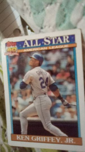 Baseball Topps collection card Ken Griffey, Jr. for Sale in San Antonio, TX