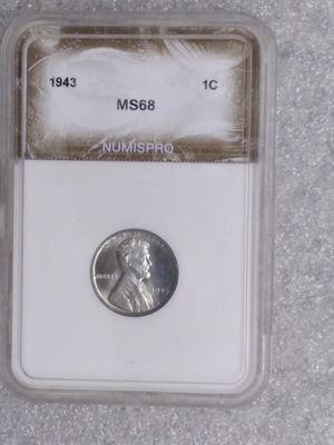 1943 steel penny for Sale in Carrollton, TX