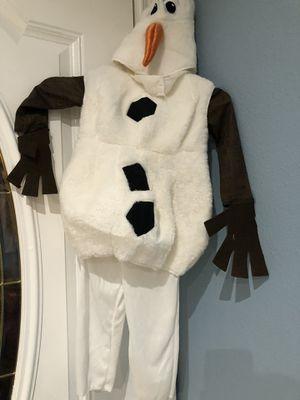 Frozen Olaf Halloween Costume for Sale in San Fernando, CA