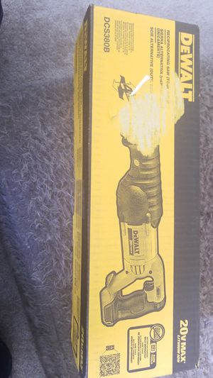 Dewalt 20VMax Lithium ION DCS380B for Sale in Baltimore, MD