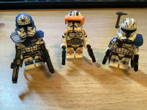 Star Wars CAPTAIN REX COMMANDER CODY JESSE Minifigures LEGO COMPATIBLE for Sale in Garden Grove, CA