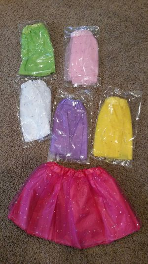Brand New Set of 6 Princess tutu skirts for Sale in Taylor Mill, KY