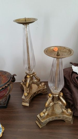 Pair of candle holders for Sale in Wilder, KY