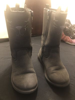 Toddler kitty boots for Sale in Providence, RI