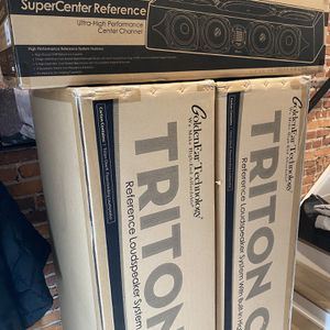 GoldenEar Triton One.R (Pair) And SuperCenter Reference for Sale in Washington, DC