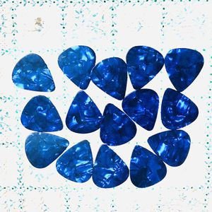 15 New DARK BLUE Pearl Shell Color Guitar Picks Medium 0.71mm Thick, Keyboards: Fender, Bass, Acoustic, Effects for Sale in Pomona, CA