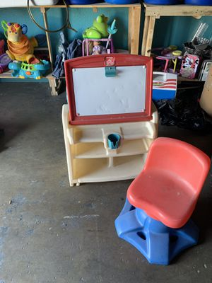 Step 2 Kids desk and easel for Sale in Upland, CA