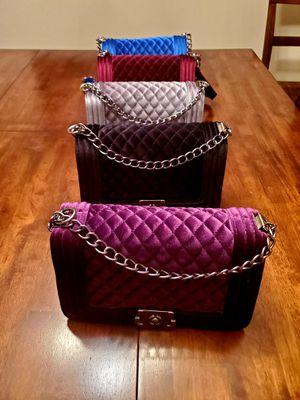 Velvet handbags for Sale in Memphis, TN