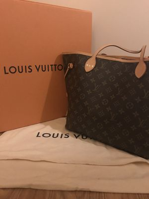 Louis Vuitton Neverfull MM monogram canvas comes with box and protective dust bag for Sale in Woodbridge, VA