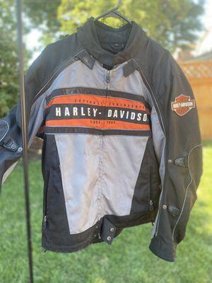 Men's Large Mesh Harley Davidson Riding Jacket for Sale in Chicago, IL