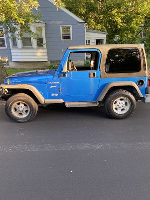 02 Jeep Wrangler sport for Sale in Livonia, MI