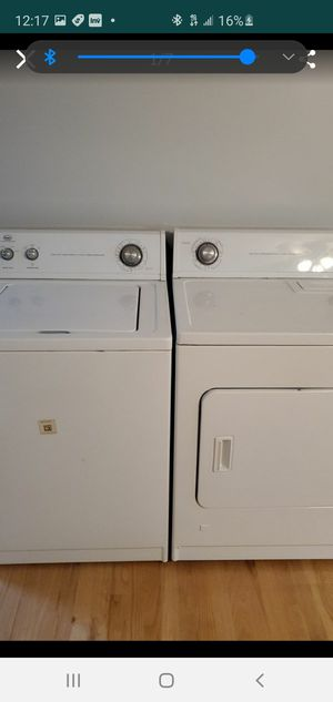 Roper Washer and gas Dryer for Sale in Monroe Township, NJ