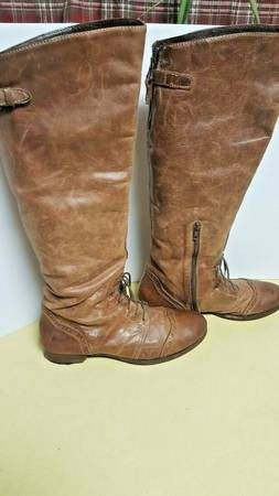 STEVE MADDEN Aubree Knee-High Leather Boots - Size 11 for Sale in Boulder, CO