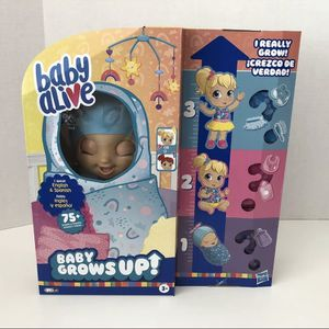Baby Alive Baby Grows Up (Happy) - Happy Hope or Merry Meadow - Growing Doll for Sale in Peoria, AZ