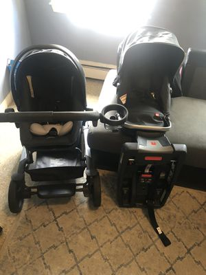 gb Lyfe Travel Stroller and car seat for Sale in Chelsea, MA