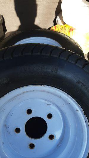 Set of 205 - 65 - 10 Trailer tires for sale75 Dollars for Sale in Edison, NJ