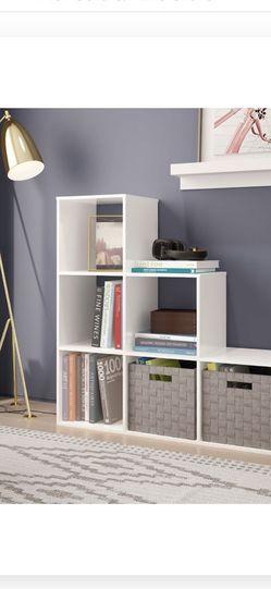 Target Cube Organizer Shelf Bookcase, White for Sale in Seattle,  WA