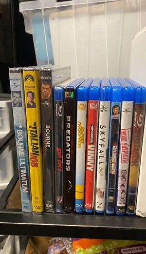 Assorted Blu-ray discs for Sale in Falls Church, VA