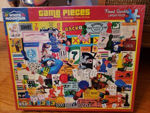 Game Pieces 1,000 Piece Puzzle for Sale in Philadelphia, PA