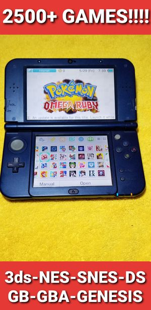 New Nintendo 3ds XL with 2500+ GAMES!!!! (GALAXY EDITION) for Sale in Chula Vista, CA