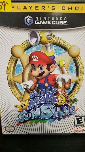 Nintendo Gamecube Game: Super Mario Sunshine for Sale in Newington, CT
