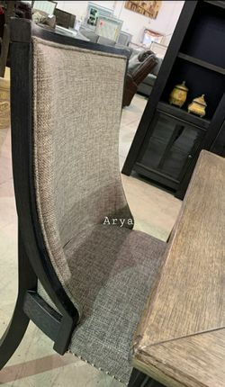 💲39 Down Payment🆕️ Tyler Creek Black/Gray Dining Room Set 6 Piece byAshley G456👆IN STOCK👆 for Sale in Alexandria,  VA