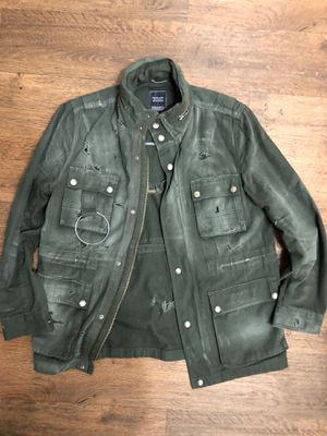 Vintage Distressed Military Style Jacket for Sale in Scottsdale, AZ