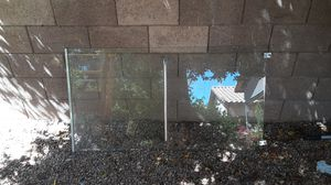 2 peices of tempered sliding shower glass door 55.5 inches by 30 thickness 3 sixteenth for Sale in Phoenix, AZ