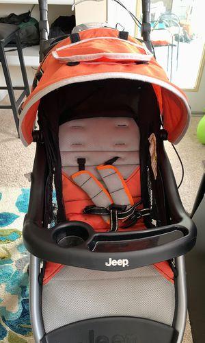 Jeep running stroller for Sale in Laurel, MD