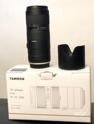 Tamron lens 70-210 f/4 for canon for Sale in Philadelphia, PA