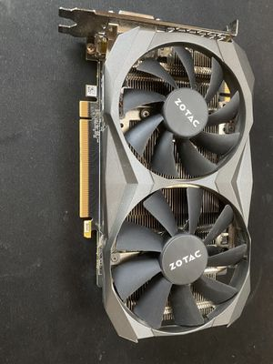 GeForce GTX 1060 6GB GDDR5X Graphics Card for Sale in Austin, TX