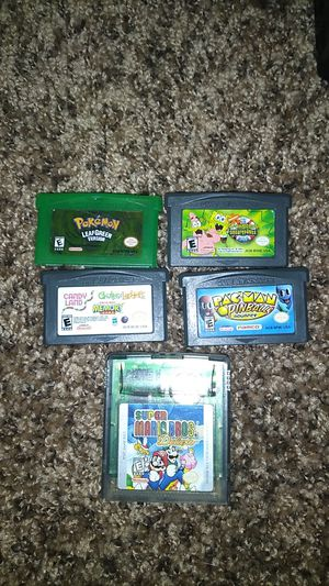 Gameboy advance games for Sale in Greenville, SC
