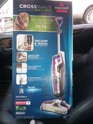 Bissell CrossWave pet pro for Sale in Corona, CA