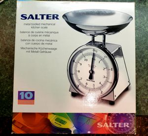 Salter Retro Precision Kitchen Scale, Stainless Steel for Sale in Lake Grove, OR