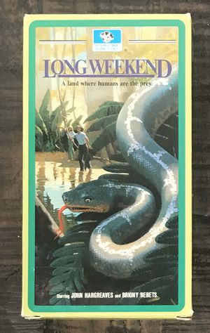 RARE Long Weekend VHS Movie for Sale in Port St. Lucie, FL