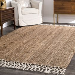 Handwoven 9x12 Jute Rug for Sale in Washington,  DC