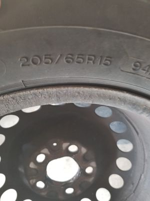 Michelin 205 65r15 with rim for Sale in Whitehall, OH