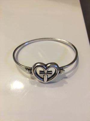 James Avery (RETIRED)Eternal Love Hammered Hook-On Bracelet for Sale in Arlington, TX