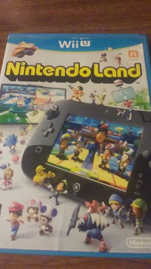 Nintendo land wii u for Sale in Chicago, IL