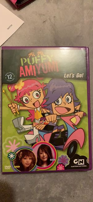 "Hi Hi Puffy Amiyumi ""Lets go"" dvd for Sale in Avis, PA"