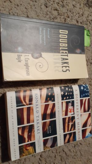 2 college text books. Subject American multicultural. for Sale in Huntington Beach, CA