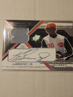Baseball KEN GRIFFEY JR - 2003 SPx AUTOGRAPH MEMEROBILIA Card. 470/690 for Sale in Mercer Island,  WA