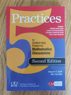 5 Practices For Orchestrating Productive Mathematics Discussions (2nd Edition) for Sale in Brooklyn,  NY