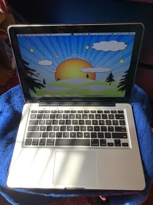 """Late 2011 13"""" MacBook Pro. Includes Microsoft office, Adobe Cs6, Final Cut Pro, Speck case and Charger. 2.4 i5, 4gb ram, 240gb SSD. for Sale in Oceanside, CA"""