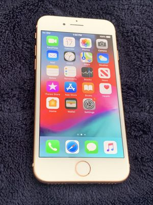 Iphone 8 64gb Gold Factory Unlocked Smartphone Att Tmobile GSM WORLDWIDE 97% battery for Sale in Doral, FL