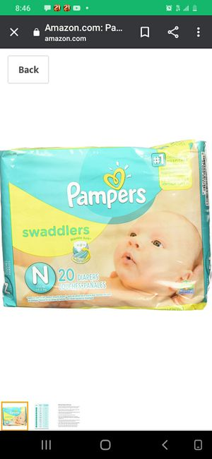 Pampers newborn 3 packs for Sale in San Diego, CA