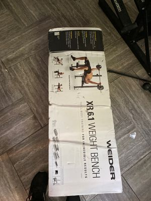 Weider standard weight bench for Sale in Hamden, CT