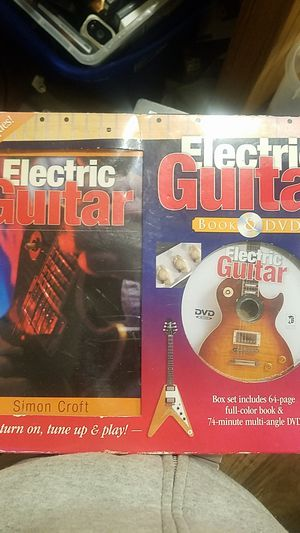Electric Guitar Book and Dvd for Sale in Milford, DE